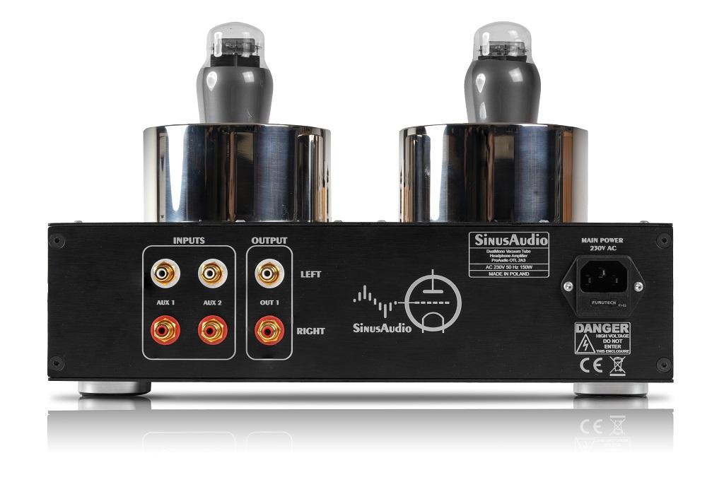 Wzmacniacz słuchawkowy DualMono OTL 2A3 ProAudio